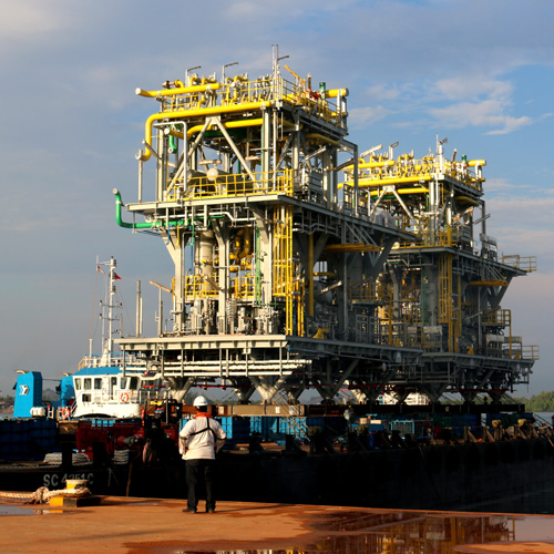 Gas Compression Modules <br> Ghana (West Africa)